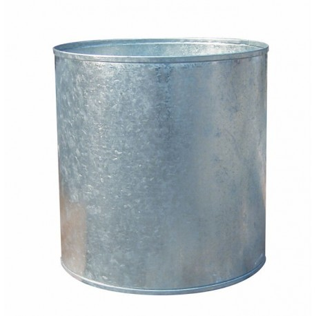 Galvanised Cylinder Planter