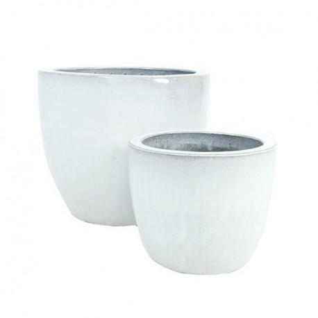 White Couple Ceramic