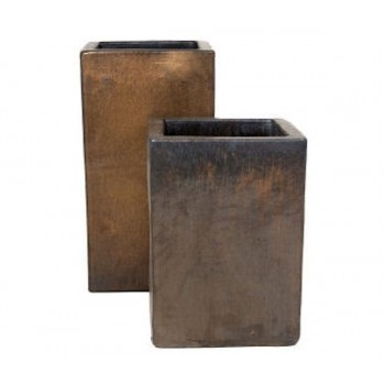 Sepia Tall Square Ceramic