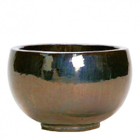 Metal Glaze Bowl Ceramic