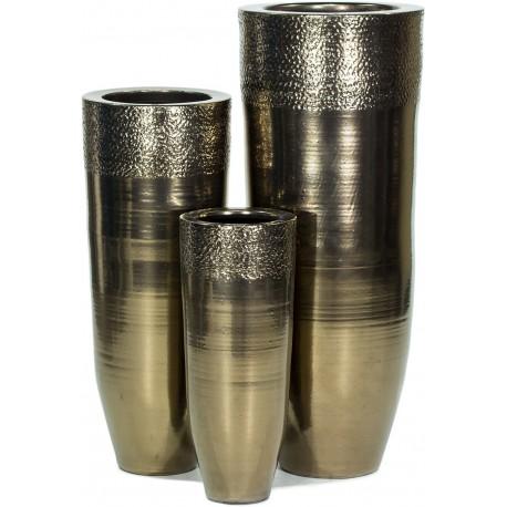 Gold Hammered Ceramic Partner