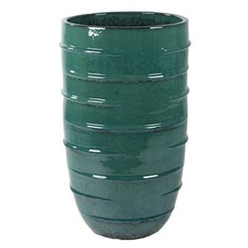 Turquoise Ceramic Beauty Planter