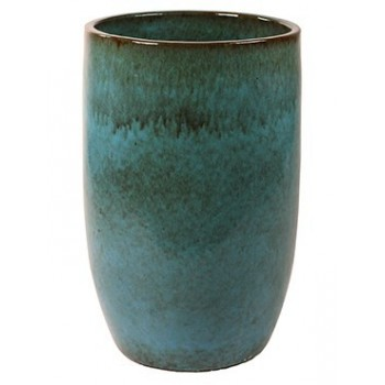Turquoise Ceramic Pure Planter